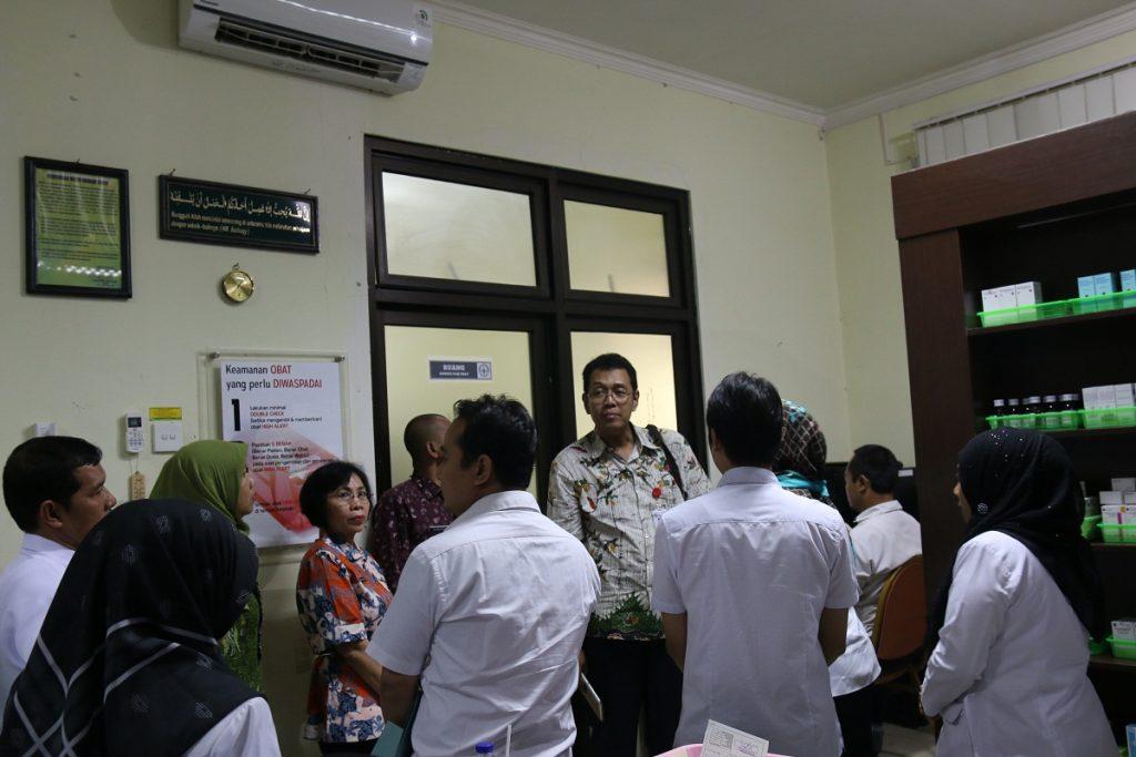 Visitasi Tim Penilai di Instalasi Farmasi RSUD dr. R. Koesma Kabupten Tuban
